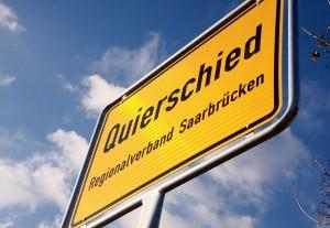 Ortsschild Quierschied (Foto: Thomas Braun)